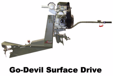 Go-Devil Surface Drive
